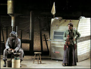 Mother Courage at the Classical Theater of Harlem. Photo: Troy Hourie.