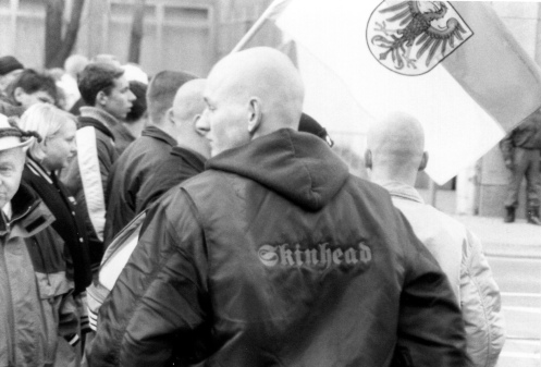 A Skinhead, Apparently. Photo: Daniel Mufson.